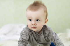 Beautiful baby boy Royalty Free Stock Photo