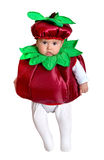 Beautiful baby disguised Royalty Free Stock Photography