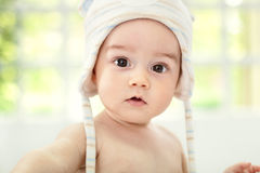 Beautiful baby face Royalty Free Stock Photos