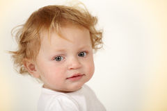 A beautiful baby girl Stock Images