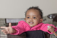 Beautiful baby girl Stock Images