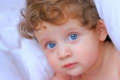 Beautiful baby girl Stock Images