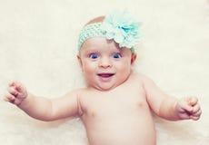 Beautiful baby girl Stock Image