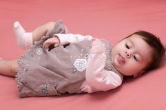 Beautiful baby girl Royalty Free Stock Image