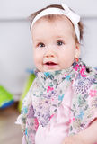 Beautiful baby girl Stock Photo