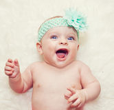 Beautiful baby girl Royalty Free Stock Photography