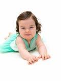 Beautiful baby girl stock photos