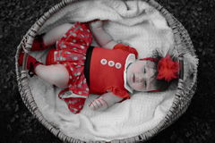 Beautiful baby girl portrait Royalty Free Stock Photo