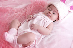 Beautiful baby girl Royalty Free Stock Images