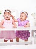 Baby girls Stock Photos