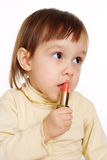 Beautiful baby lipstick Royalty Free Stock Photo