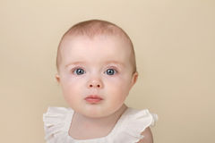 Beautiful Baby Portrait Royalty Free Stock Photos