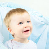 Beautiful Baby Portrait Stock Image