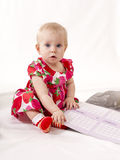 Beautiful baby Stock Images