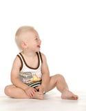 Beautiful baby smiling Stock Image