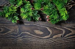 Beautiful background for Christmas and New Year greeting card Stock Images