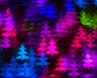 Beautiful background with different colored christmas tree , abs royalty free illustration