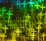 Beautiful background with different colored cross, abstract back Royalty Free Stock Images