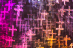 Beautiful background with different colored cross, abstract back Royalty Free Stock Photo