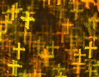 Beautiful background with different colored cross, abstract back Royalty Free Stock Photography