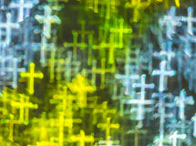 Beautiful background with different colored cross, abstract back Stock Photos