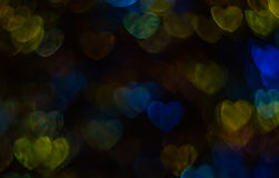 Beautiful background with different colored heart , abstract bac Royalty Free Stock Image