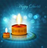 Beautiful background diwali colorful card royalty free illustration