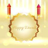 Beautiful background of diwali Royalty Free Stock Photo