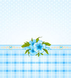 Beautiful background with  flowers Royalty Free Stock Images