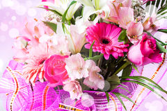 Beautiful background with flowers Royalty Free Stock Photography