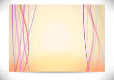 Beautiful background with halftone lines Royalty Free Stock Photo