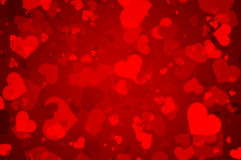 Beautiful background of the heart Royalty Free Stock Image