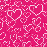 Beautiful background with hearts Stock Photos