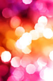 Beautiful background of holiday lights Royalty Free Stock Photos