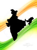 Beautiful background for indian independence day. Vector illustration Royalty Free Illustration
