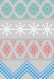 Beautiful background,  knitted ornament Royalty Free Stock Photography