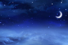 Beautiful background, nigh sky Royalty Free Stock Image