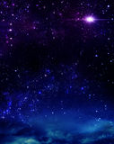 Beautiful background of the night Royalty Free Stock Photography