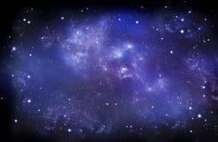 Beautiful starry sky, galactic nebula, space background. Beautiful background of the night sky with stars. starry sky in the open space, galactic nebula stock photography
