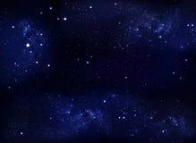 Beautiful starry sky, galactic nebula, space background. Beautiful background of the night sky with stars. starry sky in the open space, galactic nebula stock photo