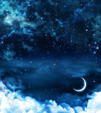 Beautiful background, nightly sky Royalty Free Stock Photography