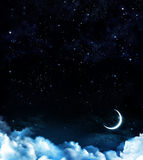 Beautiful background, nightly sky Royalty Free Stock Image