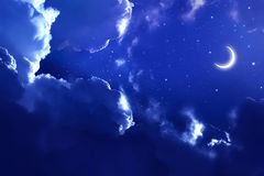 Beautiful background,  nightly sky Royalty Free Stock Photo
