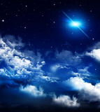 Beautiful background, nightly sky Stock Photos