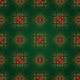 Beautiful background of seamless floral pattern Stock Image