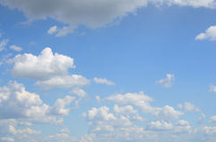 A beautiful background of summer sky Royalty Free Stock Photos