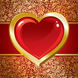 Beautiful background on Valentine's Day Royalty Free Stock Images