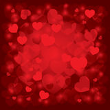 Beautiful background on Valentine's Day Royalty Free Stock Photo