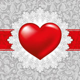 Beautiful background on Valentine's Day Stock Photos