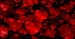 Beautiful background on Valentine's Day Royalty Free Stock Photos